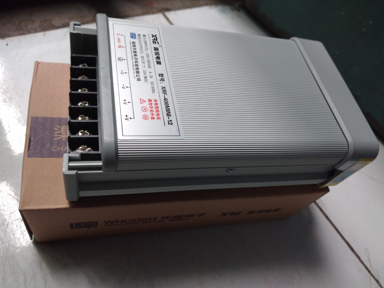 Nguồn 12v33A tiêu chuẩn dùng trong nhà và ngoài trời